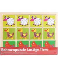 Imagine Puzzle distractiv cu animale