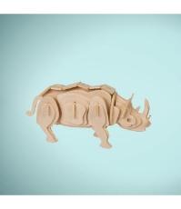 Imagine Puzzle 3D Animale salbatice - Rinocer
