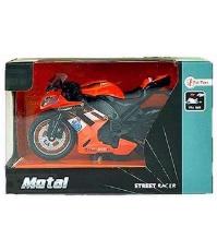 Imagine Macheta Motocicleta portocalie