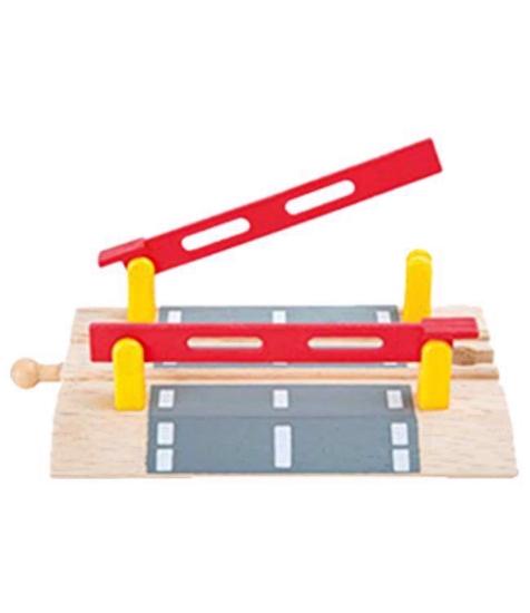 Imagine Bariera trenulet din lemn cu sine