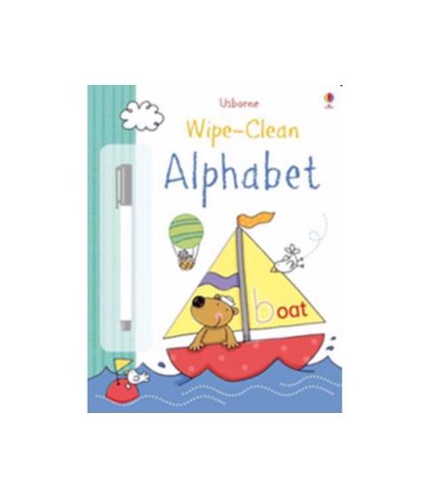 Imagine Caiet de activitati: Alphabet Wipe Clean
