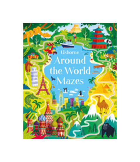 Imagine Caiet de activitati: Around The World Mazes