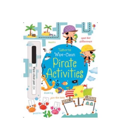 Imagine Caiet de activitati: Pirate Activities Wipe Clean