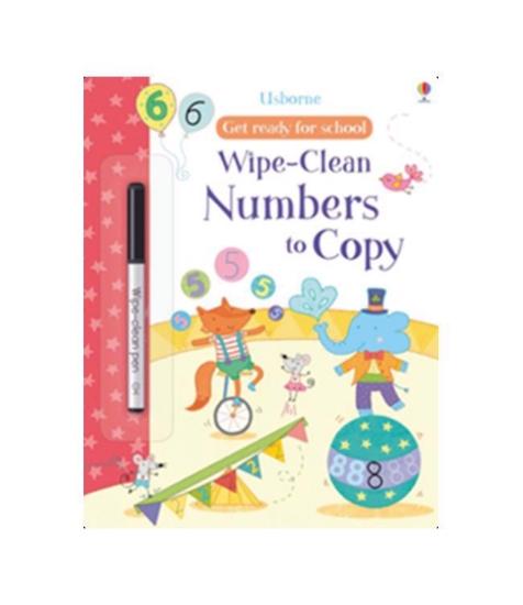 Imagine Caiet de activitati:Numbers To Copy Get Ready Wipe-clean