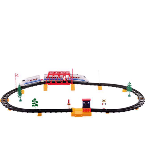 Imagine Set Tren de viteza cu baterii, sine si accesorii