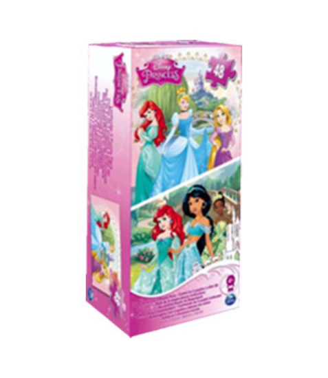 Imagine Printesele Disney 2 puzzleuri 3D (lenticulare)