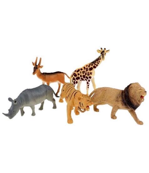 Imagine Animale salbatice -set de 5
