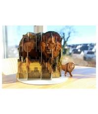 Imagine Puzzle 4S (Ravensburger) Animale salbatice