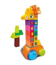 Imagine Mega Blocks girafa cu numere