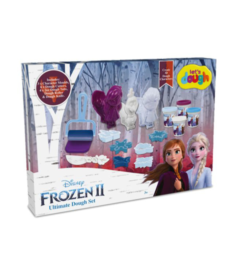 Imagine Frozen Plastelina cu forme Elsa, Ana si Olaf