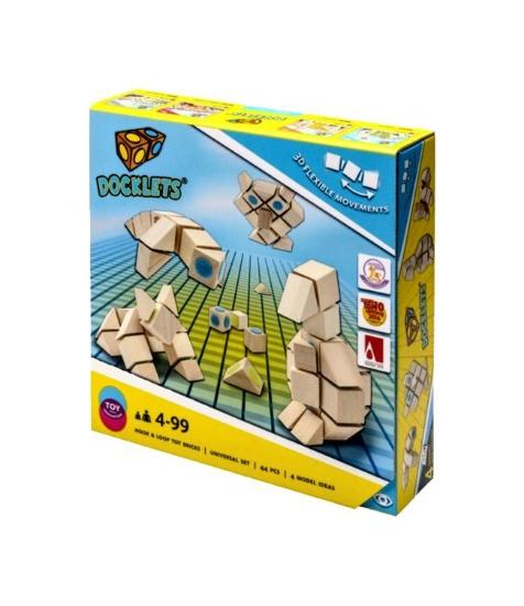 Imagine Docklets cuburi cu scai - Animale 3D
